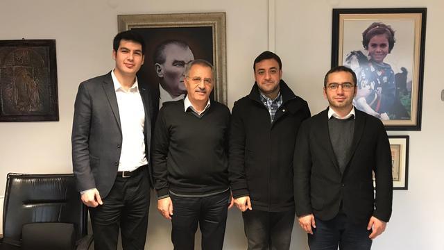 TGB'den Sözcü Gazetesi Ankara Temsilcisi Saygı Öztürk'e ziyaret