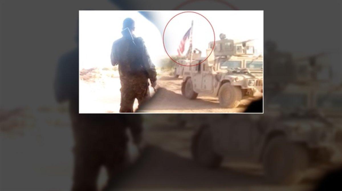 ABD askerleri Münbiç'te PKK ile nöbet tutuyor!