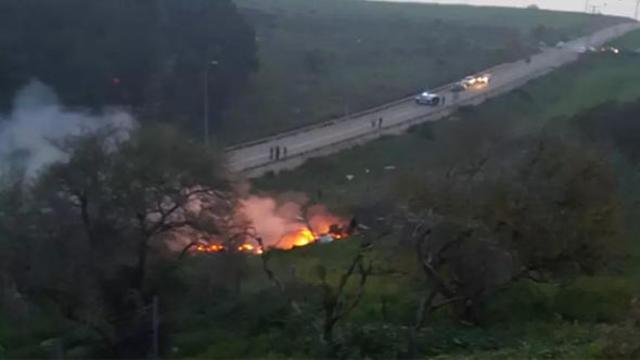 Suriye İsrail'in uçağını düşürdü