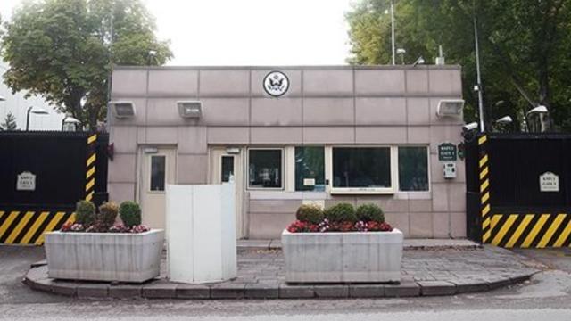 ABD Büyükelçiliği'nin bulunduğu caddenin adı ''Zeytin Dalı'' oluyor