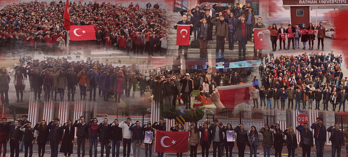 Binlerce gençten Afrin'de savaşan Mehmetçiğe selam!