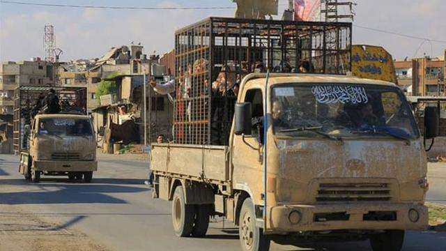 Afrin'de PKK/PYD Guta'da El Nusra