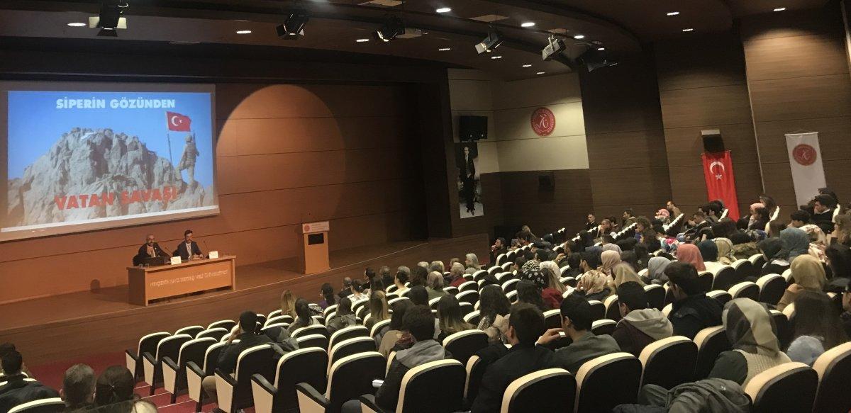 """Hacı Bektaş Veli Üniversitesi ADK'dan """"Vatan Savaşı"""" etkinliği"""