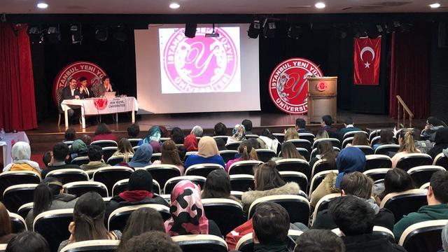 Yeni Yüzyıl Üniversitesi ADK Zeytin Dalı Harekatını konuştu