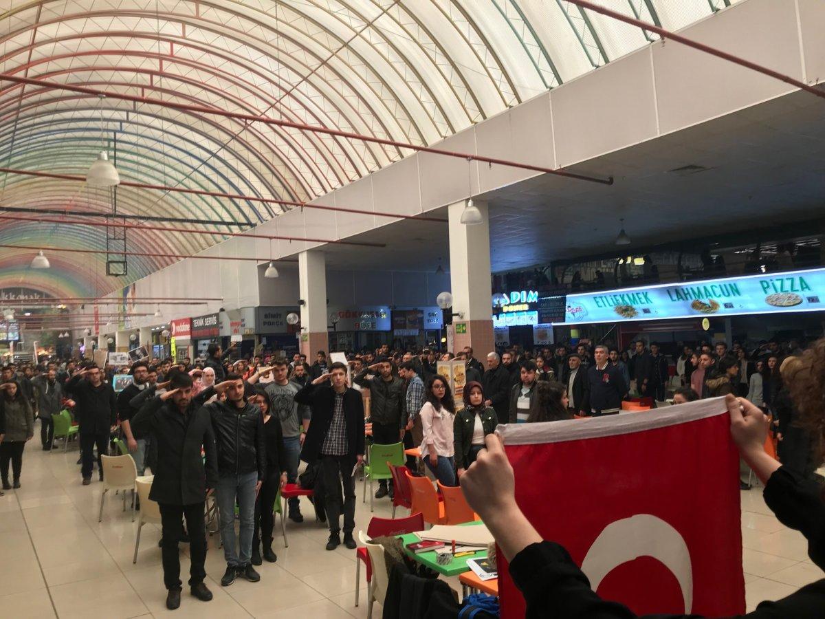 Selçuk Üniversitesi ADT'den Mehmetçiğe selam!