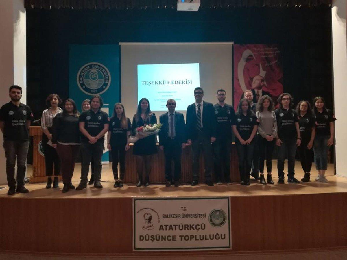 Balıkesir Üniversitesi  Atatürkçü Düşünce Topluluğu, 8 Mart