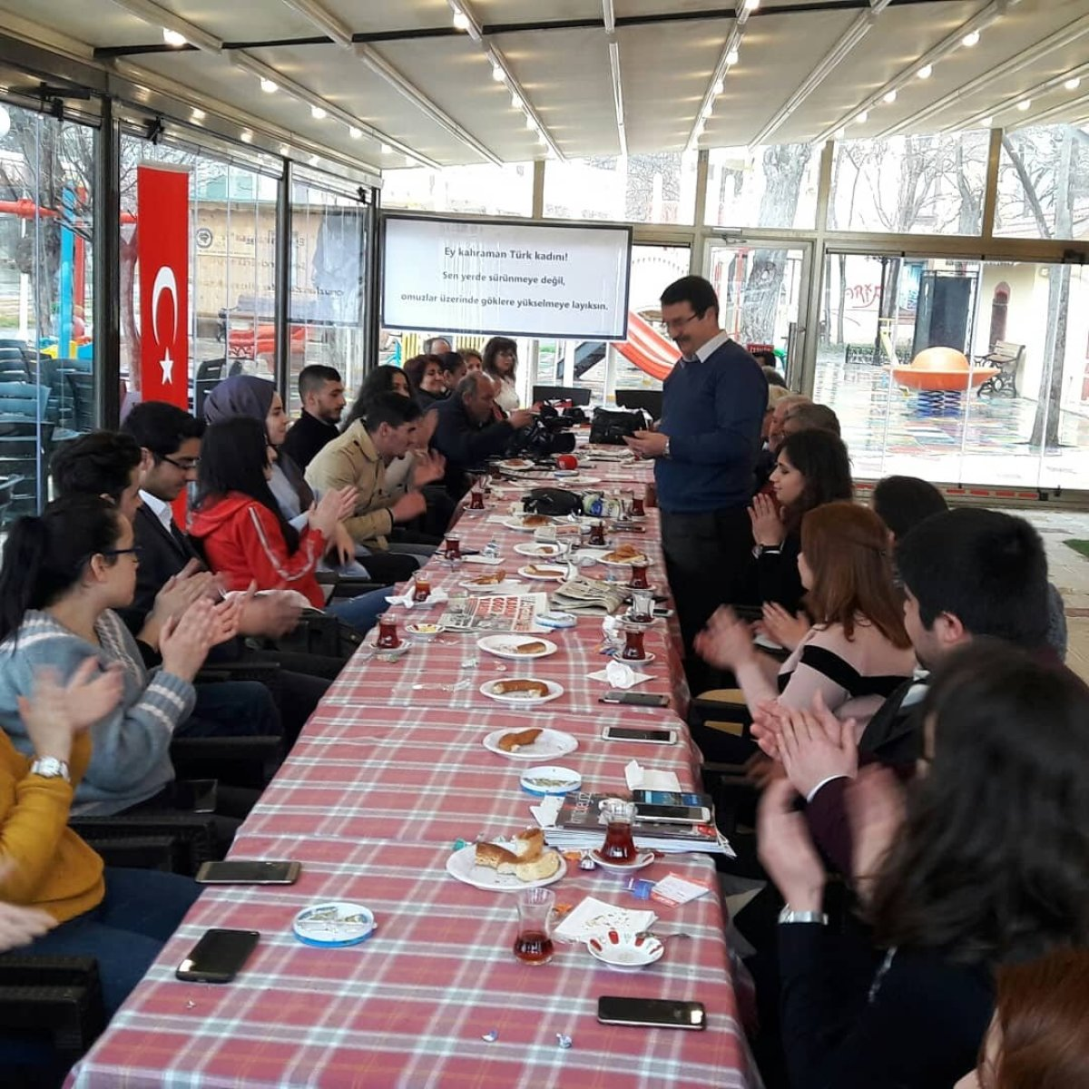 Kırklareli 8 Mart Dünya Emekçi Kadınlar Günü dayanışma kahvaltısı