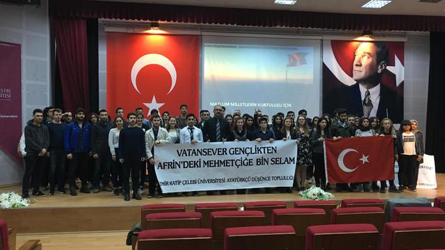 Oktay Yıldırım Katip Çelebi Üniversitesi öğrencileri ile buluştu