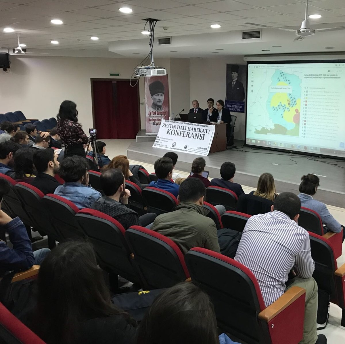 Marmaralı öğrenciler Zeytin Dalı Harekatı konuştu