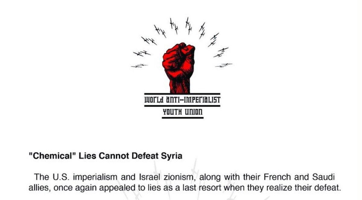 """""""Kimyasal"""" Yalanlar Suriye'yi Yenemez"""