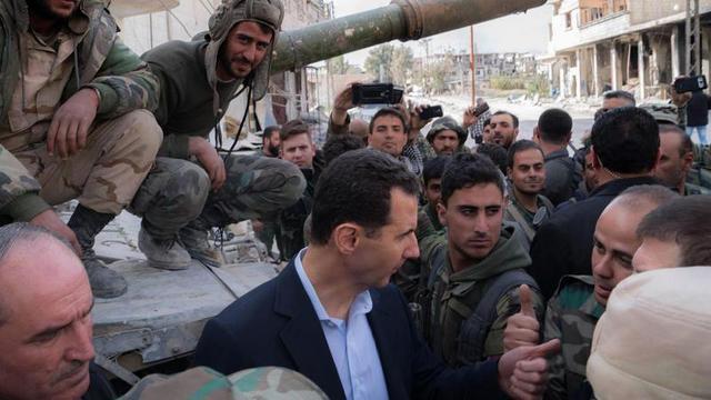 Suriye Devlet Başkanı Esad'dan açıklama: Batı kontrolü kaybetti!