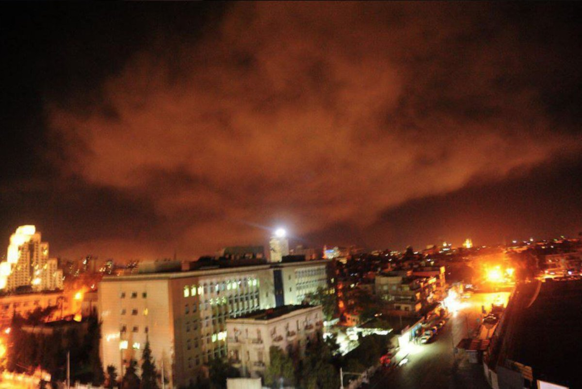 Ülkelerden Suriye'ye yapılan saldırıya karşı tepki!