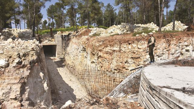 PKK'nın Afrin'de yeraltı karargahı ortaya çıkarıldı