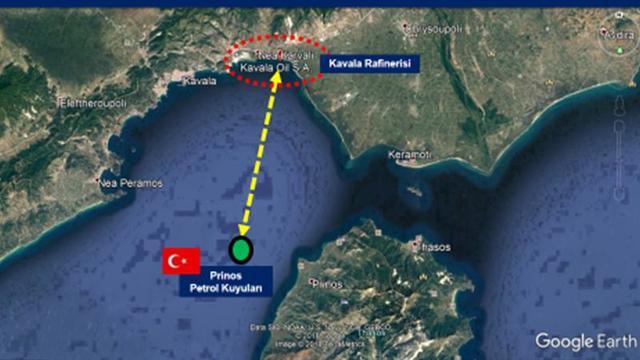 Yunanistan Ege'de petrolümüzü çalıyor