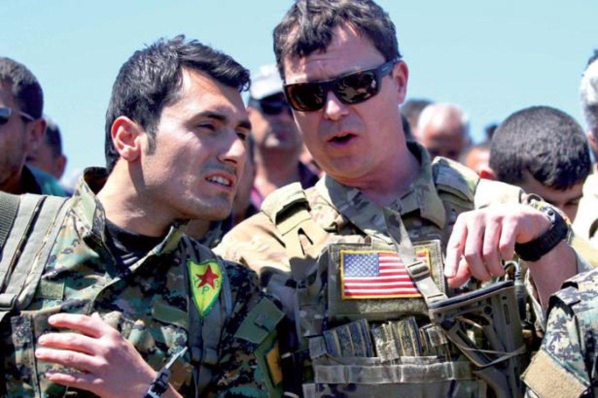 ABD Suriye'deki PKK'lıları yeniden eğitime aldı!