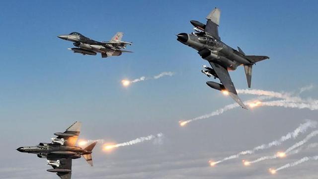 Irak kuzeyindeki PKK hedefleri imha edildi