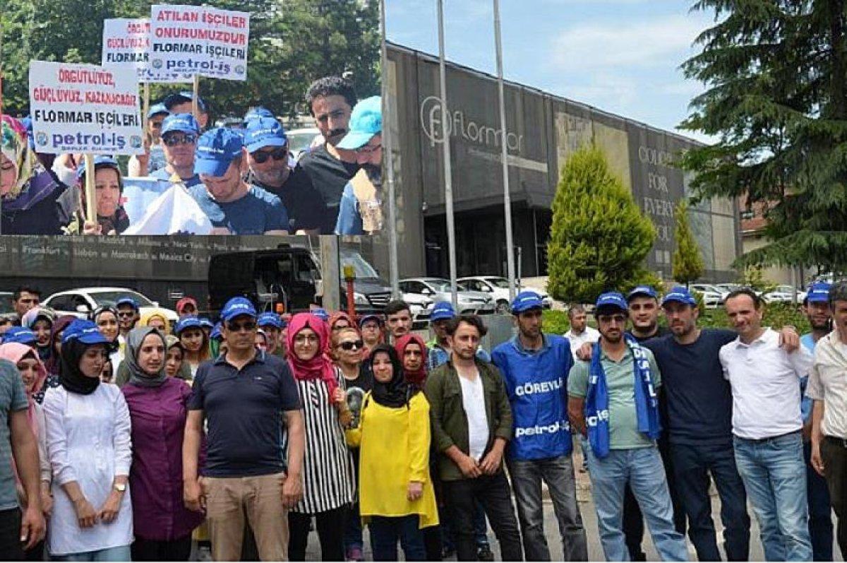 Flormar işçisi boykot çağrısı yaptı
