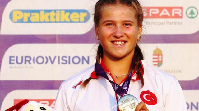 Milli atlet Münevver Hancı Avrupa ikincisi oldu