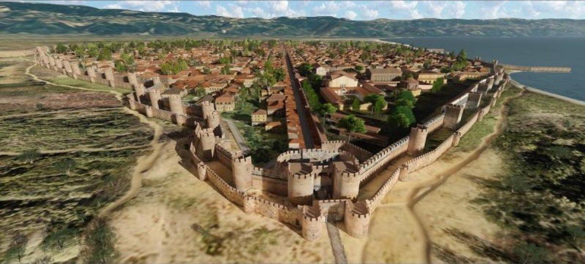 Tarihi İznik kenti 3D animasyon ile canlandırıldı