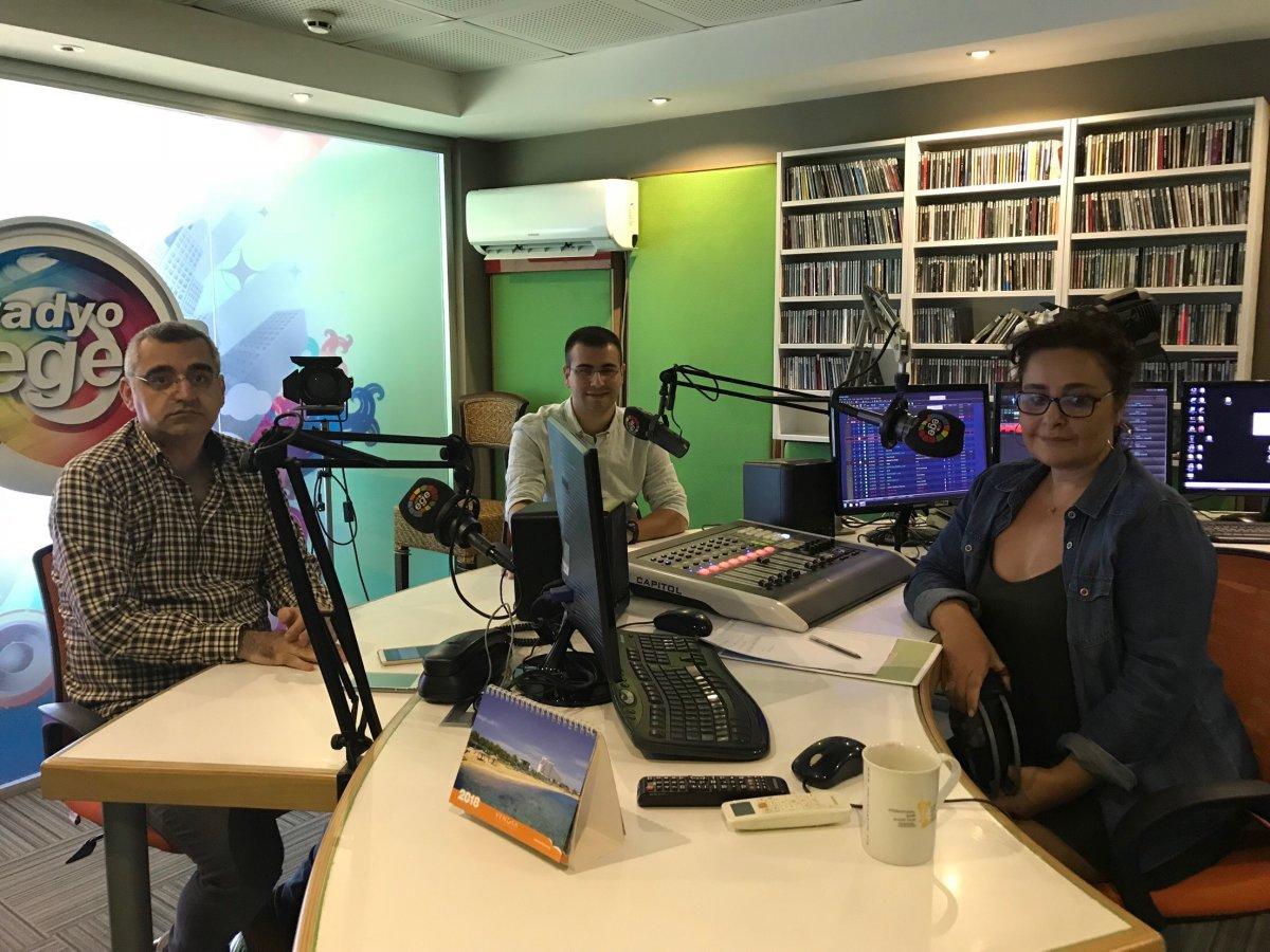 İzmir İl Yöneticimiz Görkem Gözet Radyo Ege'ye konuk oldu