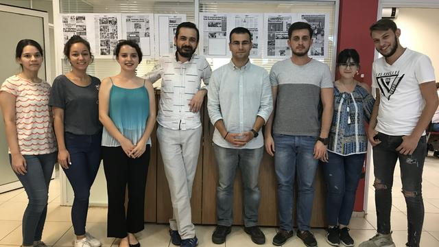 TGB İzmir'den Milliyet Ege'ye ziyaret