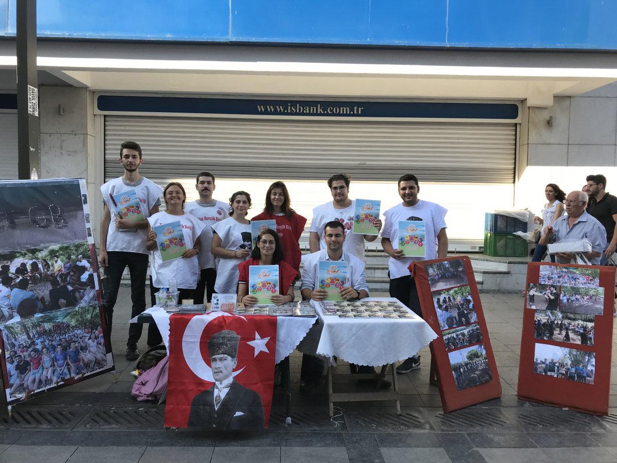 TGB İzmir Atatürkçü vatansever gençleri TGB kampına çağırıyor