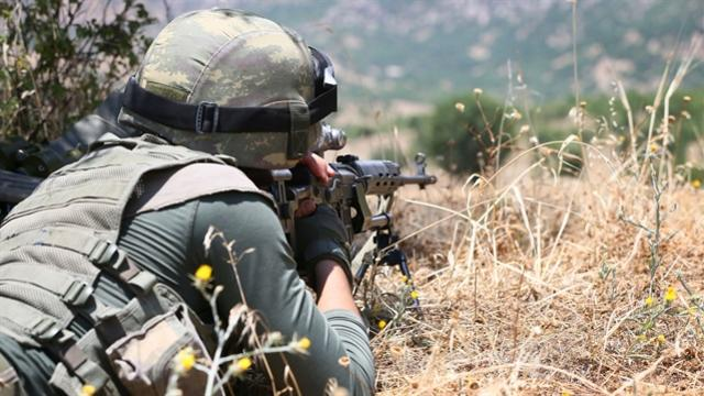 Lice'de 2 terörist öldürüldü