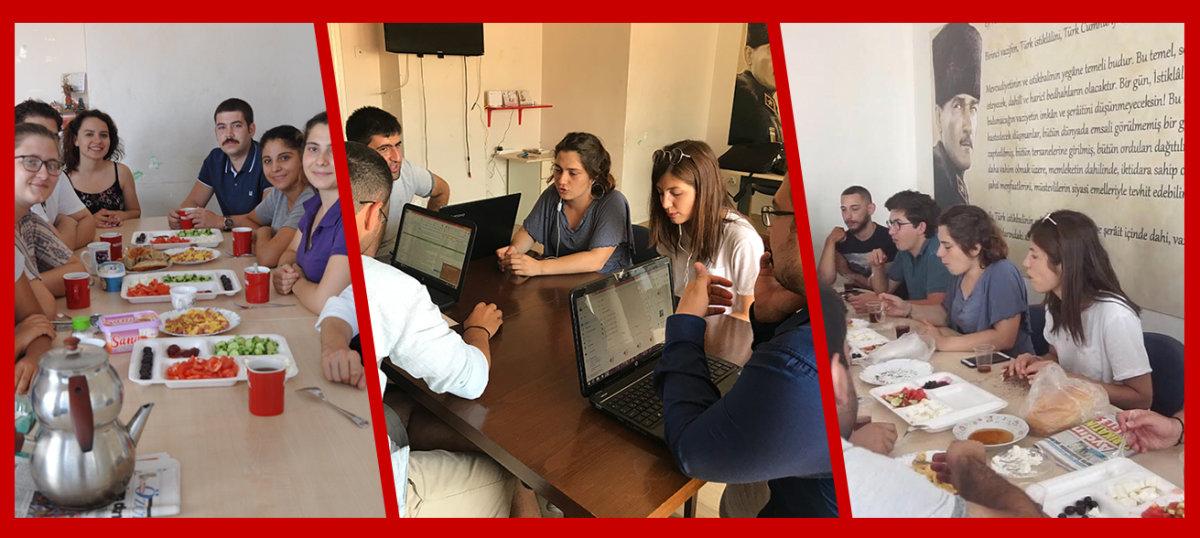 TGB İzmir Yaz Kampına hazırlanıyor