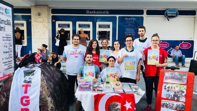 TGB İzmir gençleri yaz kampına çağırıyor