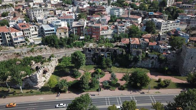 1610 yıllık Bizans Sarayı açık hava müzesi olacak
