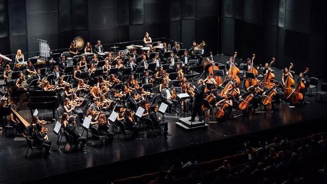 Türkiye Gençlik Filarmoni Orkestrası sanatseverlerle buluştu