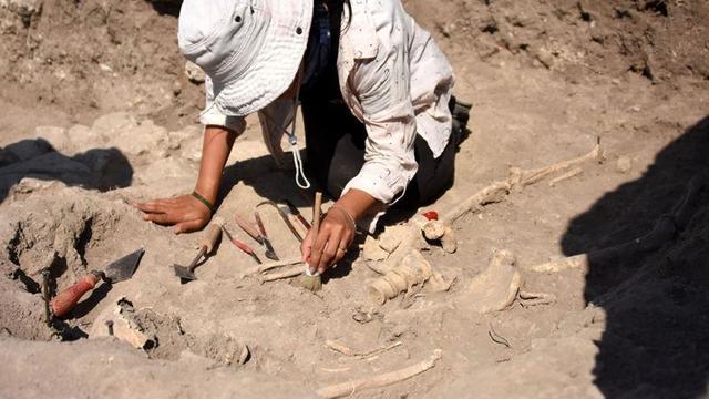 """""""Son Troyalı""""nın iskeleti bulundu"""