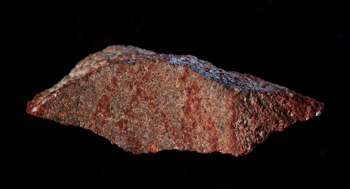 İnsan eliyle yapılan en eski çizim bulundu