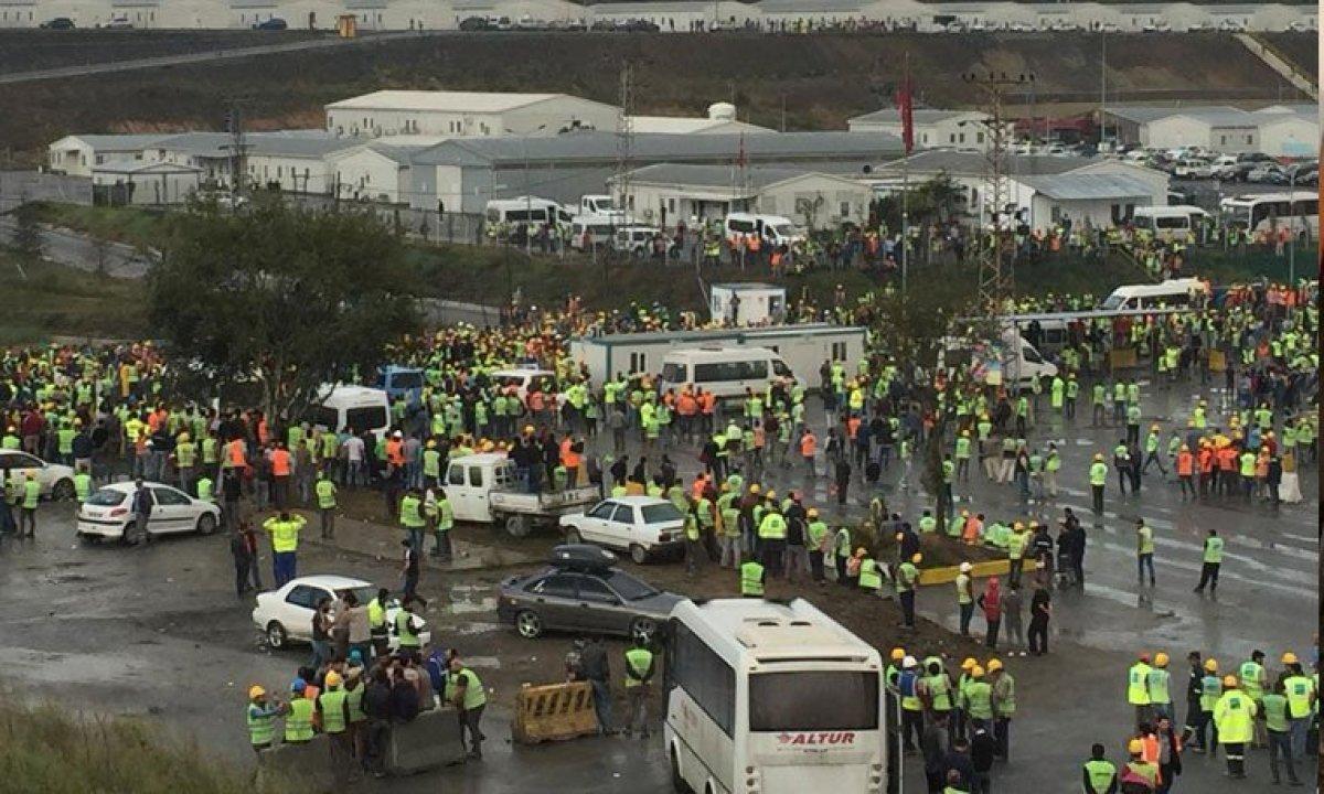 3. Havalimanı işçileri eyleme geçti