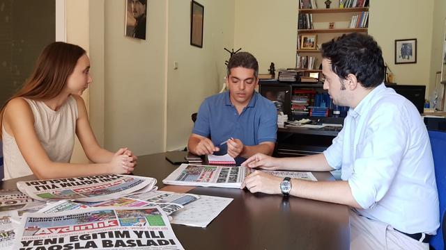 TGB'den Aydınlık gazetesine ziyaret