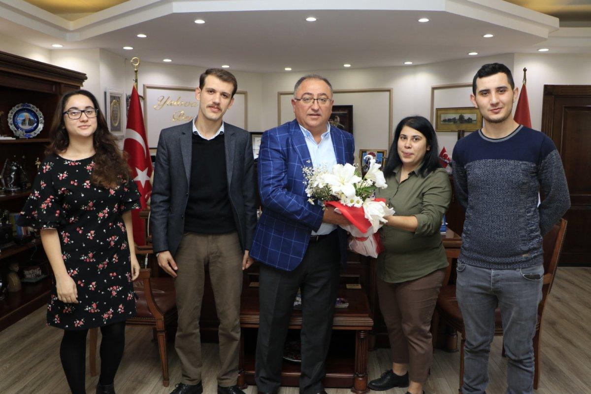 TGB Yalova Vefa Salman'ı ziyaret etti