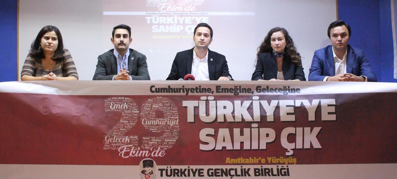 Türkiye'ye Sahip Çıkmak İçin 29 Ekim'de Anıtkabir'e!