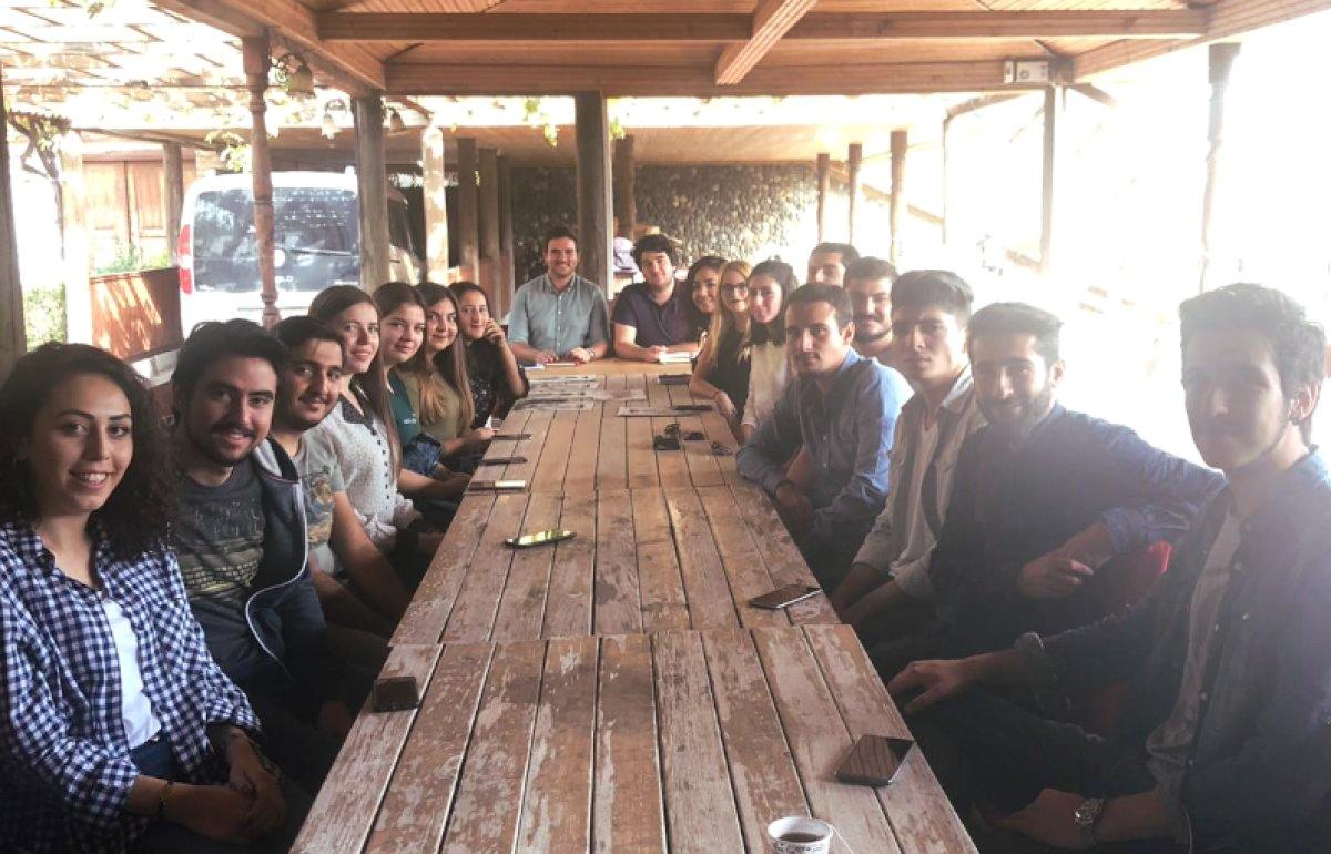 Karabük Üniversitesinde Atatürkçü Gençlik Rüzgarı
