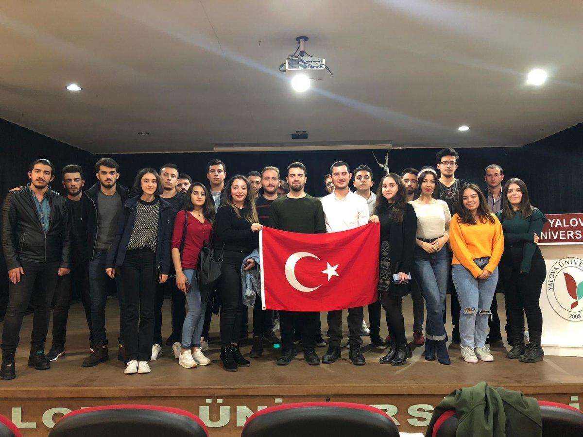 Yalova Üniversitesi'nin Atatürkçü Gençleri 29 Ekim'e Hazırlanıyor