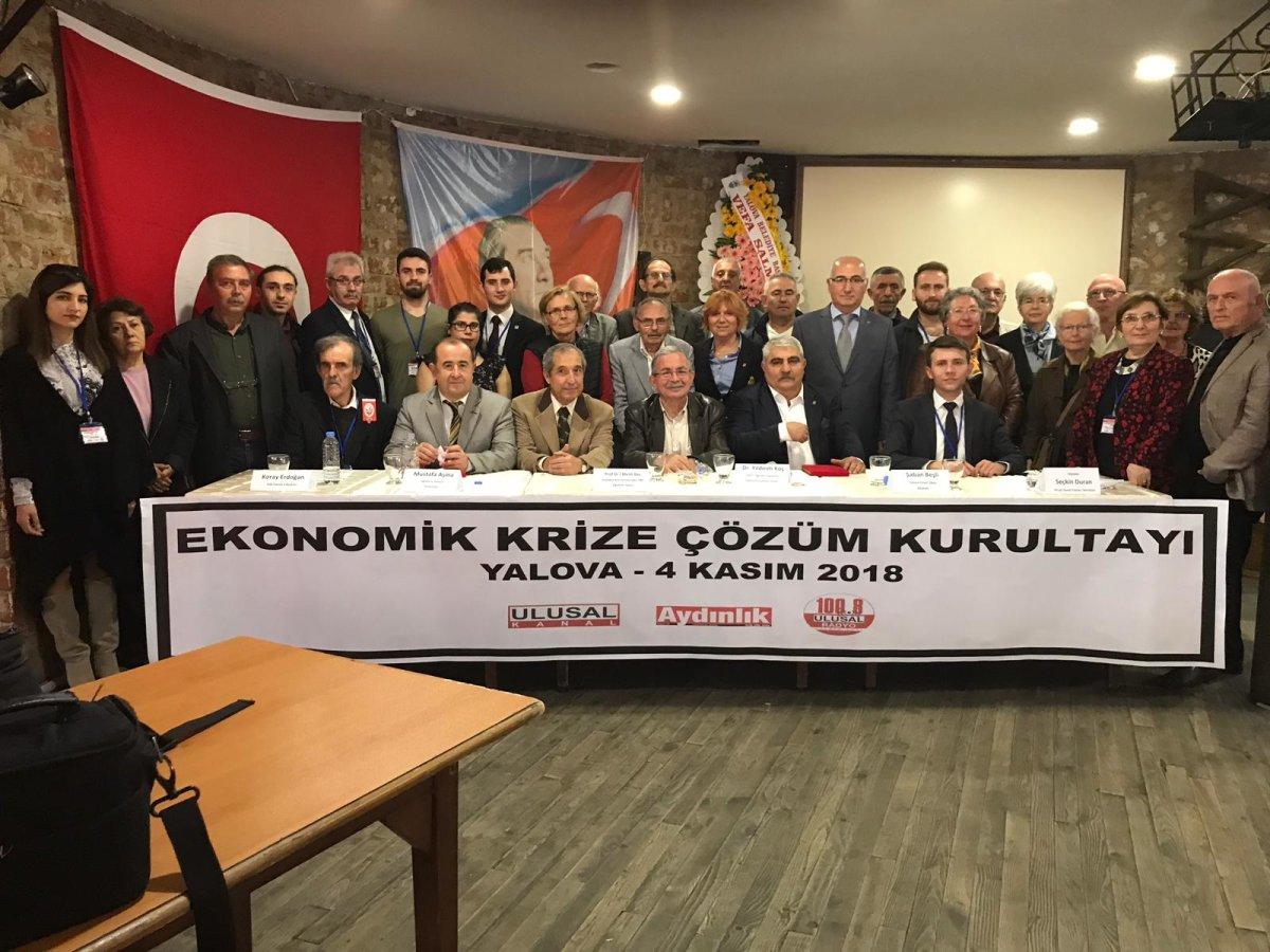 Yalovalılar Ekonomik Krize Çözüm Kurultayında Buluştu