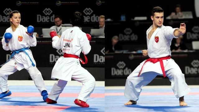 Türk Karateciler Dünya Şampiyonasına Damga Vurdu