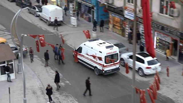 PKK Hakkari'de İşçilere Saldırdı