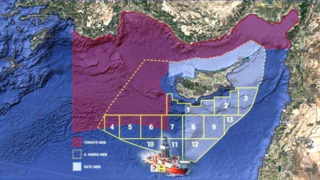 ABD Doğu Akdeniz'de Sondaja Başlıyor