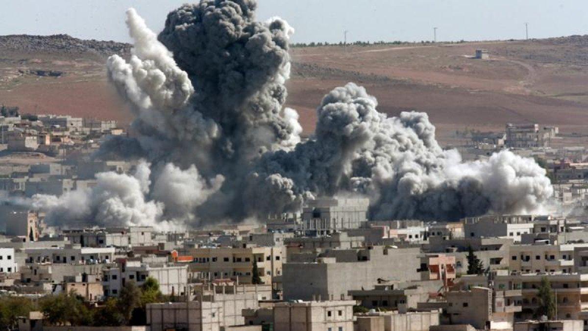 ABD'den Deyr Ez Zor'a Hava Saldırısı