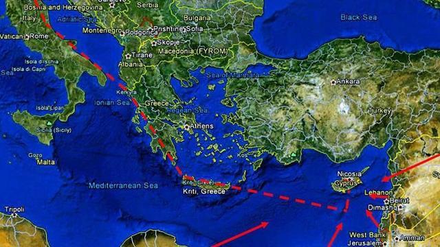 Doğu Akdeniz'deki Emperyalist Projeye İtalya da Katıldı