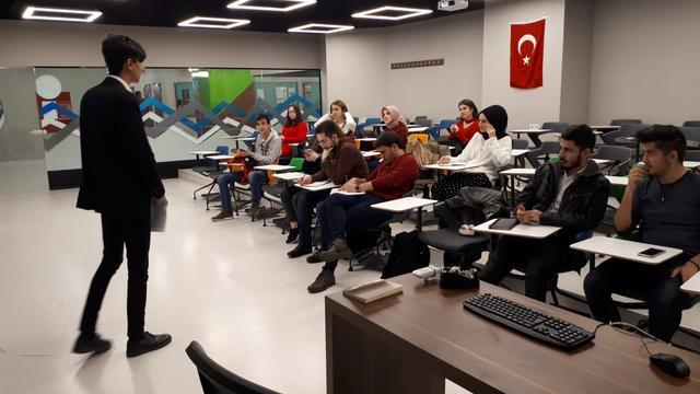 """İstinye ADK """"Atatürk ve Teşkilatçılık"""" Eğitiminde Buluştu"""
