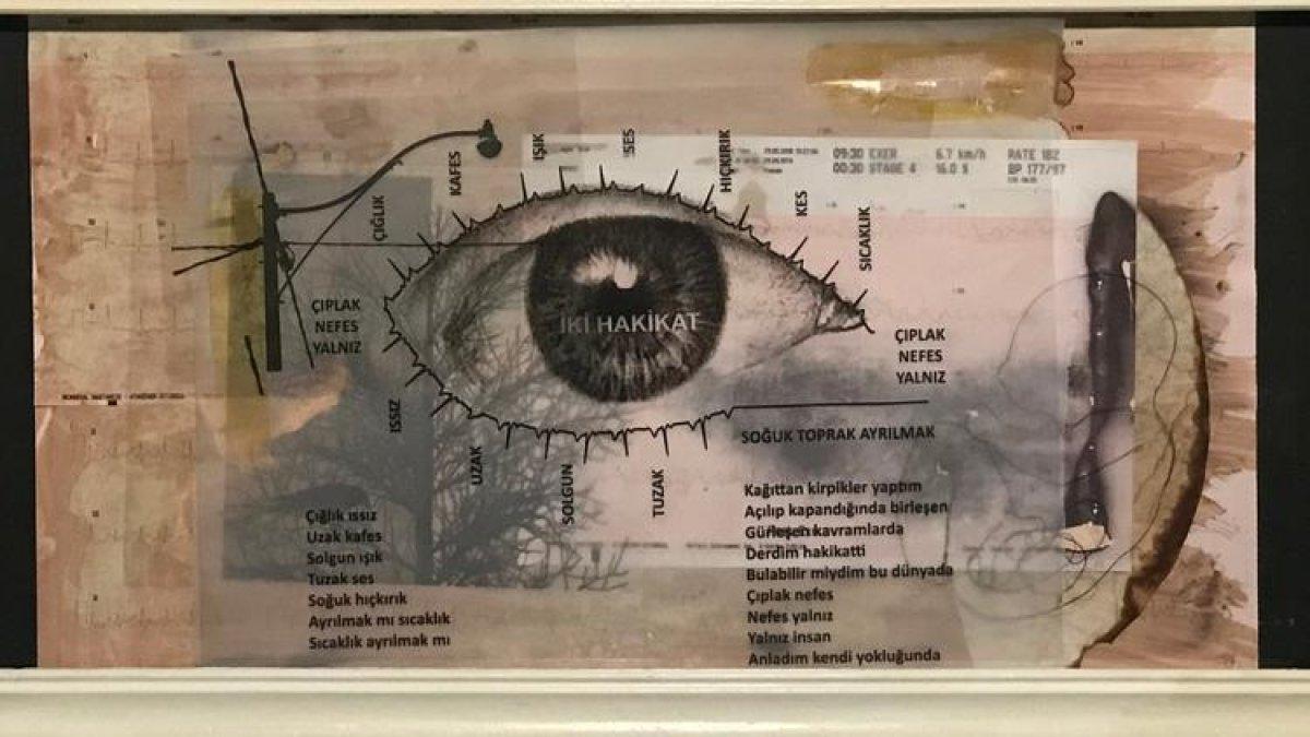 Türkiye'nin İlk Şiir Sergisi Açıldı