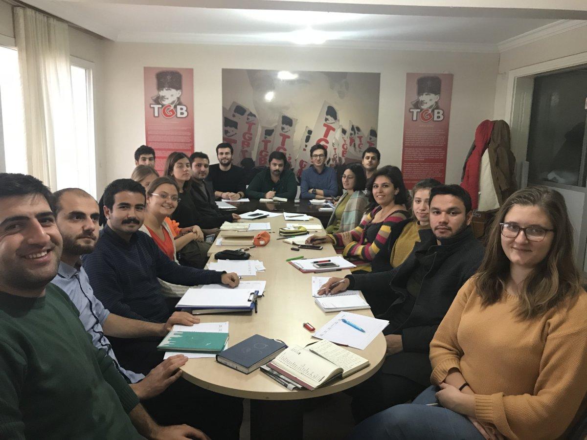 TGB İzmir Aralık Ayı Çalışmalarını Planladı