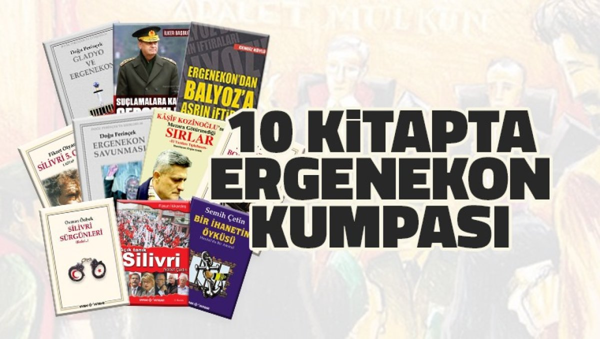 10 Kitapta Ergenekon Kumpası