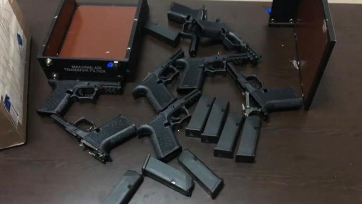 ABD Silahları İstanbul'da Ele Geçirildi